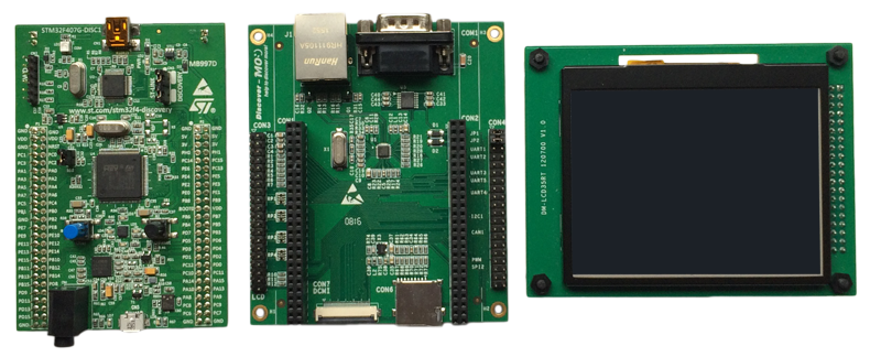 Getting started with STM: STM32F407 Discovery