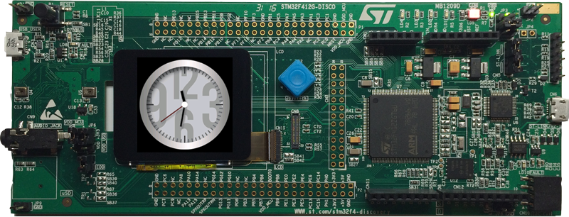 Getting started with STM: STM32F412 Discovery