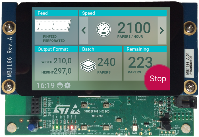 Getting started with STM32: STM32F769 Discovery